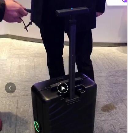 一个有自己想法的行李箱