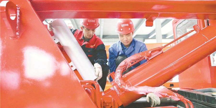 衡阳智造机械装备畅销海外
