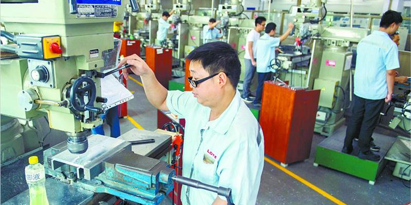衡南县着力发展智能制造产业