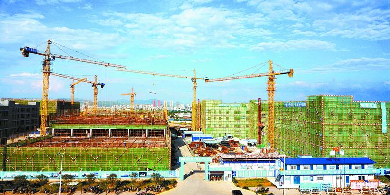 宁远:工业园区建设如火如荼