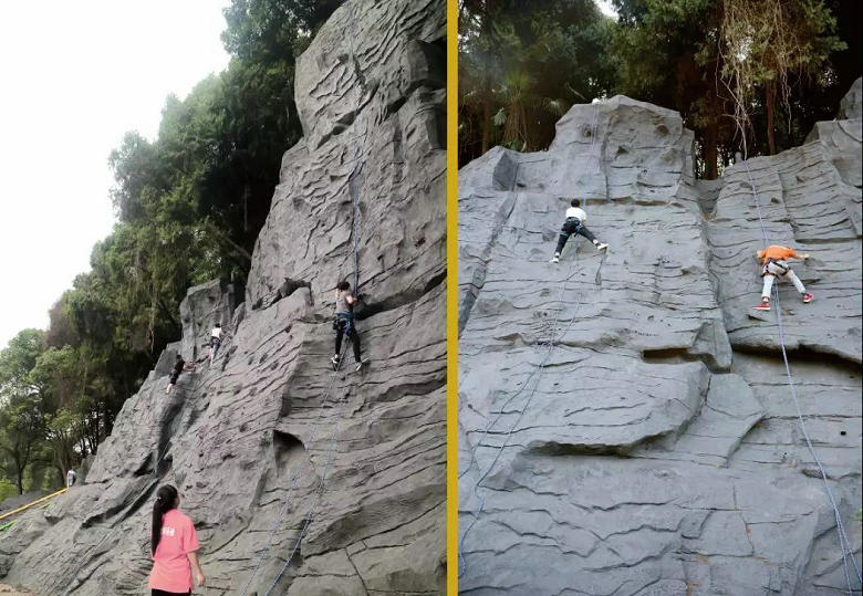 淘乐谷实体攀岩