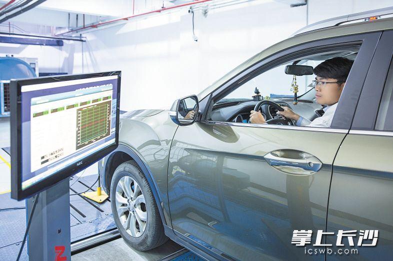 中汽(长沙)检测将在2022年前建成五大试验室,为汽车及零部件企业提供第三方检测技术服务。受访单位供图