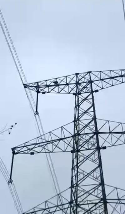 熊孩子爬上70米高压电塔 导致高压电网瘫痪
