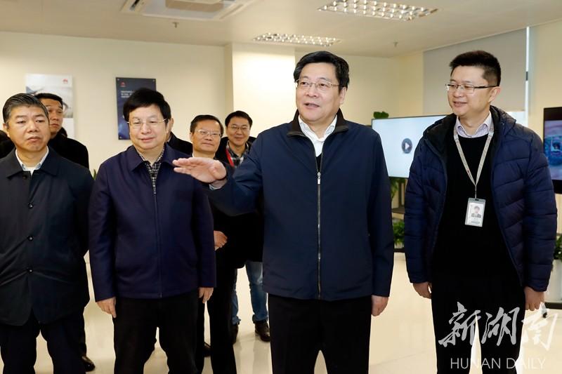 杜家毫在长沙调研:坚定不移支持在湘企业发展