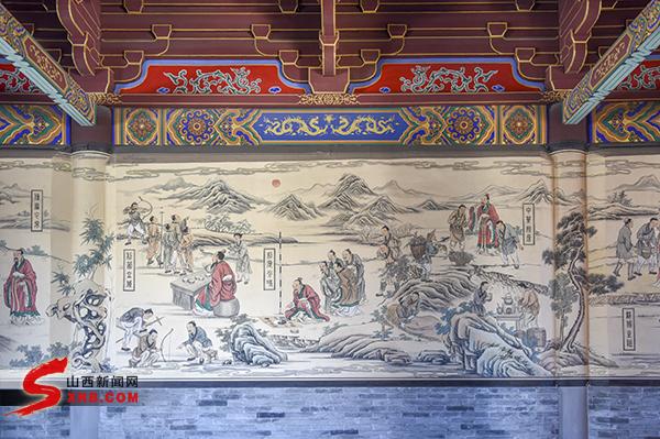 炎帝陵壁画