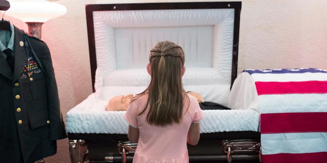 图片故事:美国9岁女孩与曾外祖父的永别