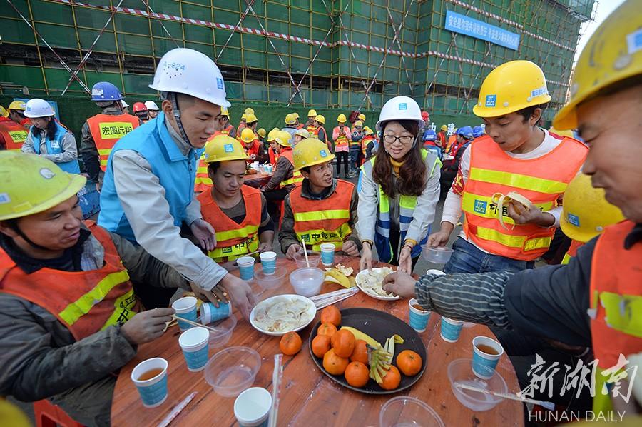 饺子飘香迎冬至 新湖南www.hunanabc.com