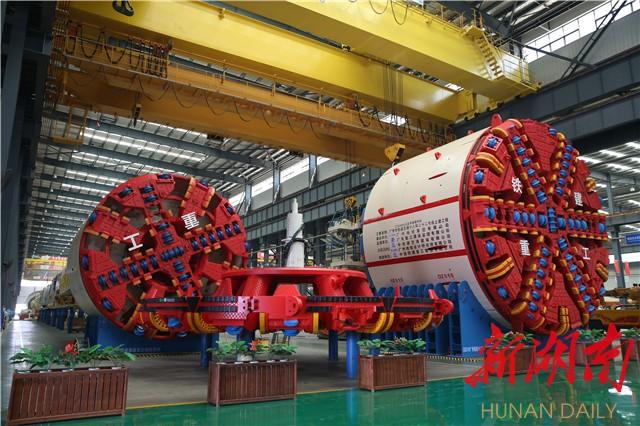 """[长沙] 迸发新动力︐转向高质量发展——长沙经开区落实""""六稳""""到产业,项目建设显成效 新湖南www.hunanabc.com"""