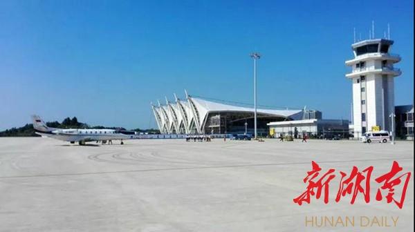 [岳阳] 岳阳三荷机场12月26日首航 新湖南www.hunanabc.com