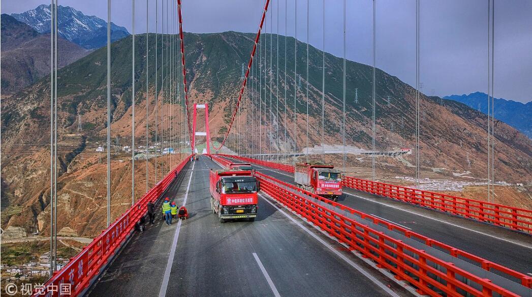 """""""川藏第一桥""""!雅康高速计划年底试通车 新湖南www.hunanabc.com"""