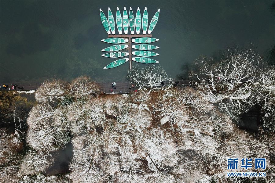 (环境)(2)雪后西湖 独有韵味