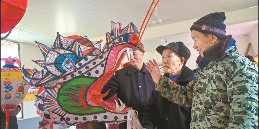传承非遗项目 活跃乡村文化