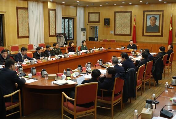 杜家毫主持召开省委外事工作委员会第一次会议