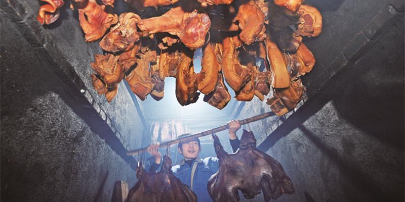 苗乡腊肉助增收