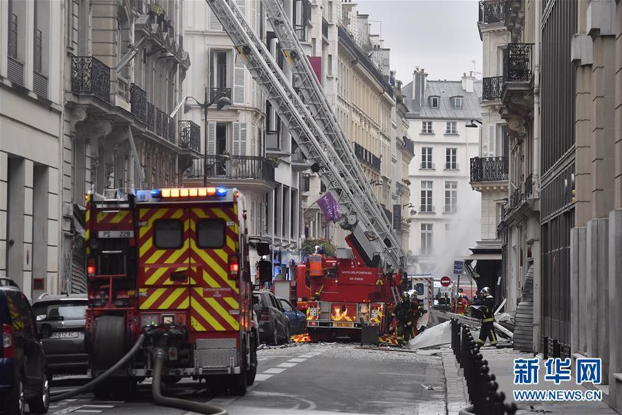 (国际)(4)巴黎发生爆炸 致多人受伤