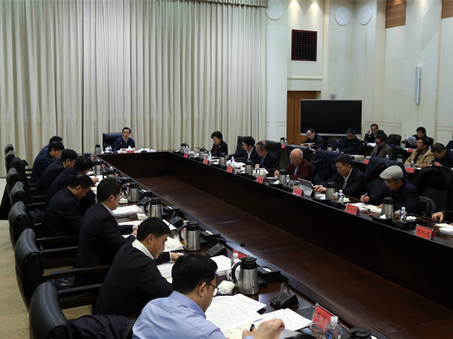 许达哲主持召开省政府参事、省文史研究馆馆员座谈会