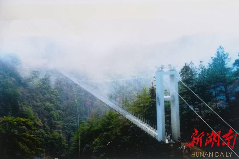[邵阳] 新邵凤凰谷景区建设旅游玻璃桥