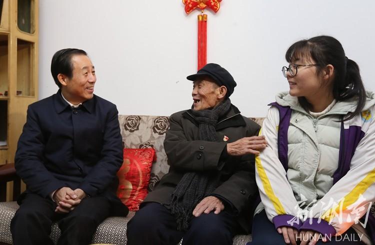 许达哲在衡阳走访慰问贫困群众和困难党员