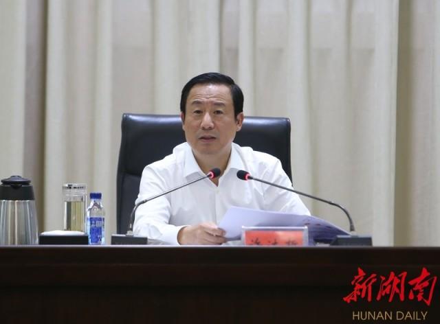 许达哲在永州调研:实施好创新引领开放崛起战略