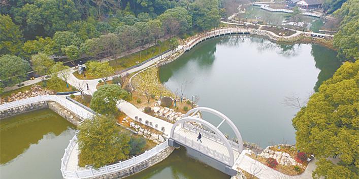 长沙望月公园:焕然一新迎新春