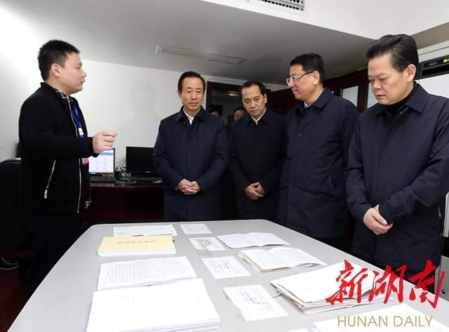 许达哲走访慰问省信访局强调:为高质量发展创造稳定环境