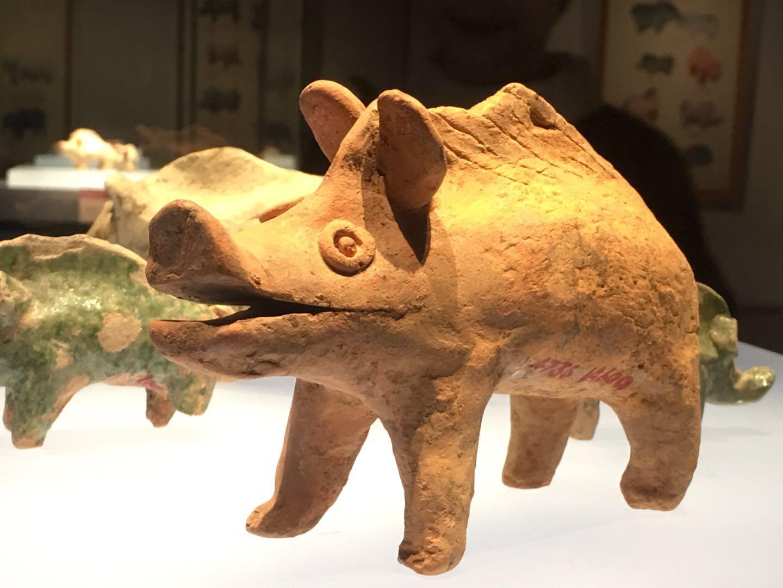 """为了""""猪你新年好"""",湖南的古人们甩出了一批萌猪"""