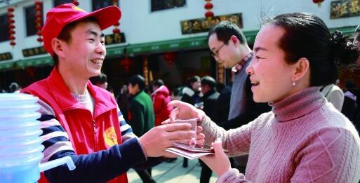 志愿服务暖新春