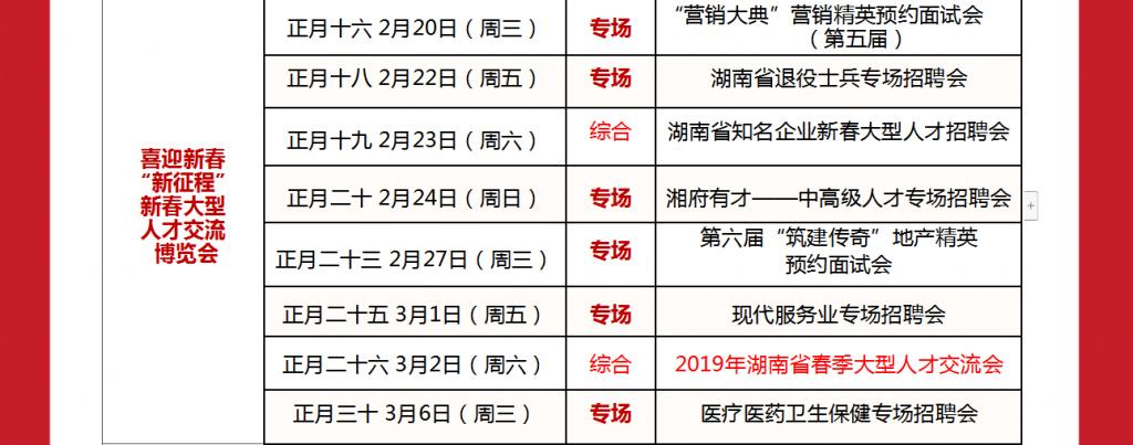 新春招工湖南多家单位提高薪酬标准 多个单位给出30万以上年薪