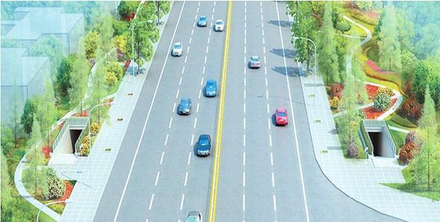岳阳:白杨坡地下通道预计5月1日启用