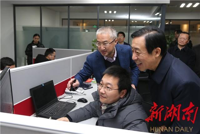 省政府领导专题调研产业项目建设,倾听企业家心声诉求