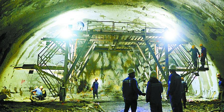 长沙:隧道建设 热火朝天