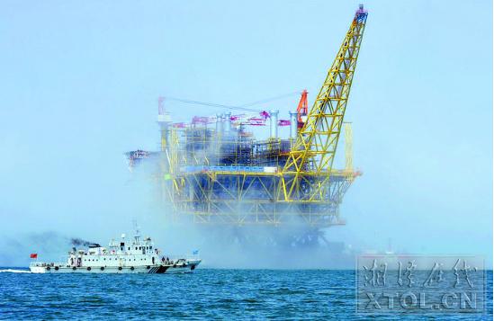 湘钢产品被用在亚洲最大深水油气平台——南海荔湾3-1平台项目中。