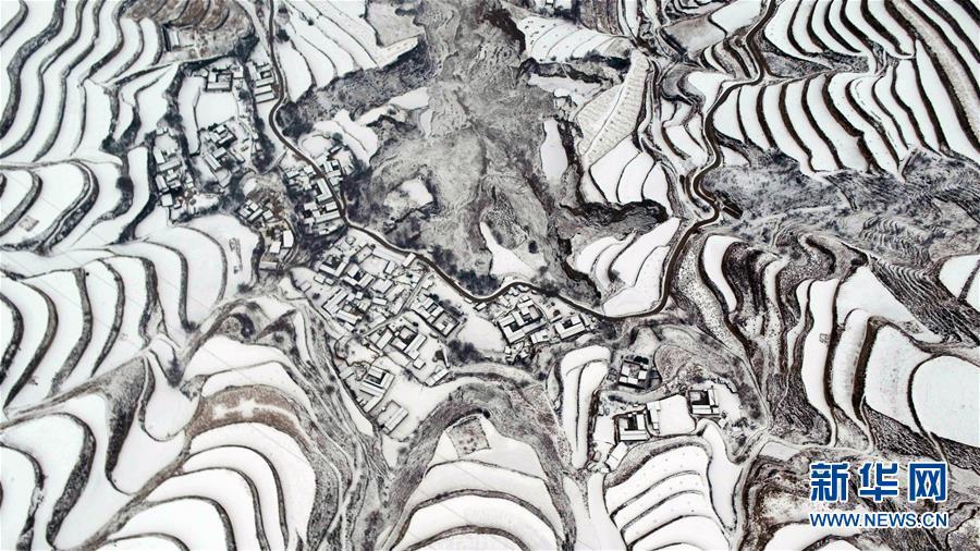 #(美丽中国)(4)甘肃定西:雪景如画