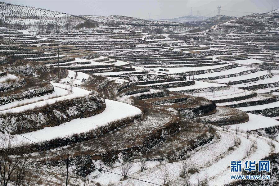 #(美丽中国)(3)甘肃定西:雪景如画