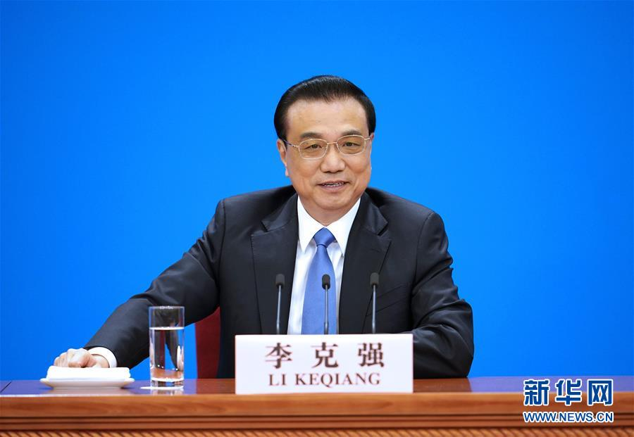 (两会)(1)李克强总理会见采访全国两会的中外记者并回答提问