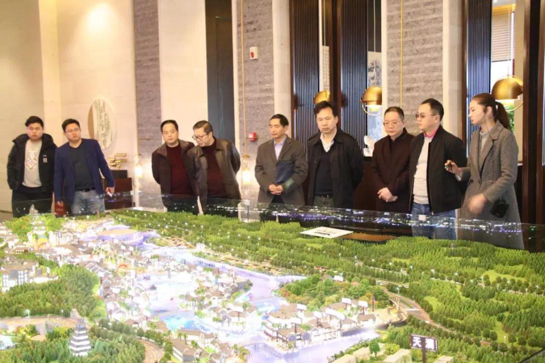 湖南省文化和旅游厅领导深入衡阳梦东方调研