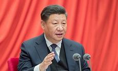 """习近平""""典""""明中国特色社会主义道?#20998;?#35201;性"""