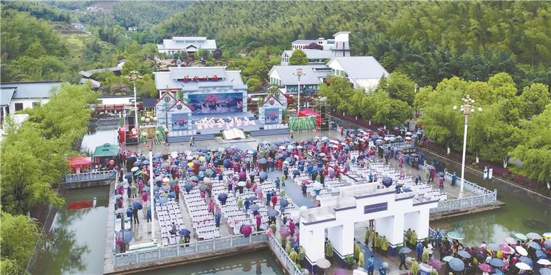 2019年湖南春季乡村文化旅游节在耒阳开幕
