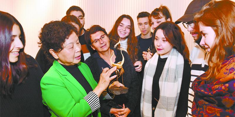 中法青年艺术交流