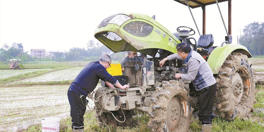 农机服务到田间