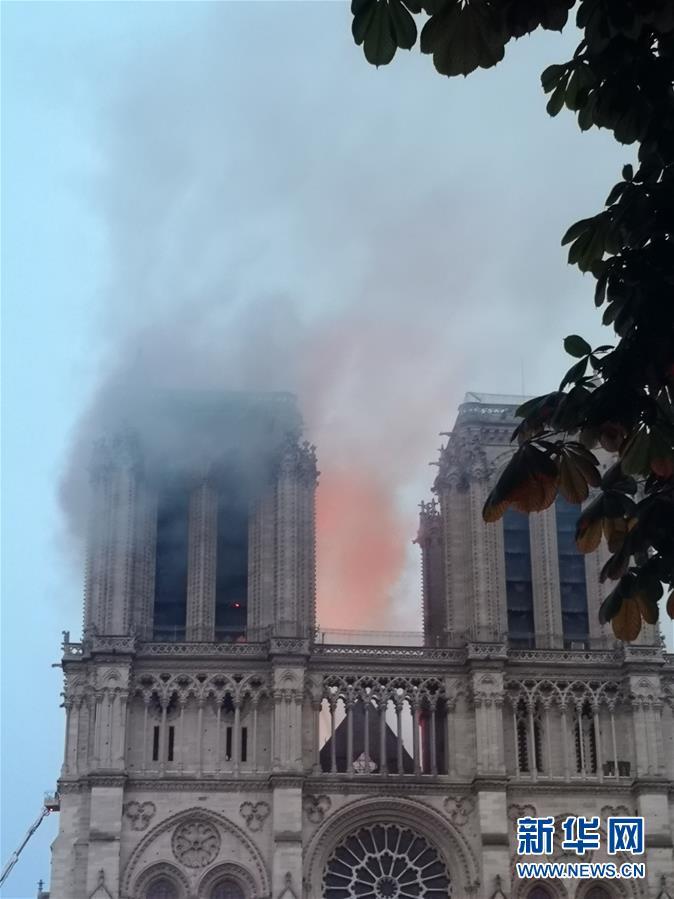 (国际)(4)巴黎圣母院发生大火
