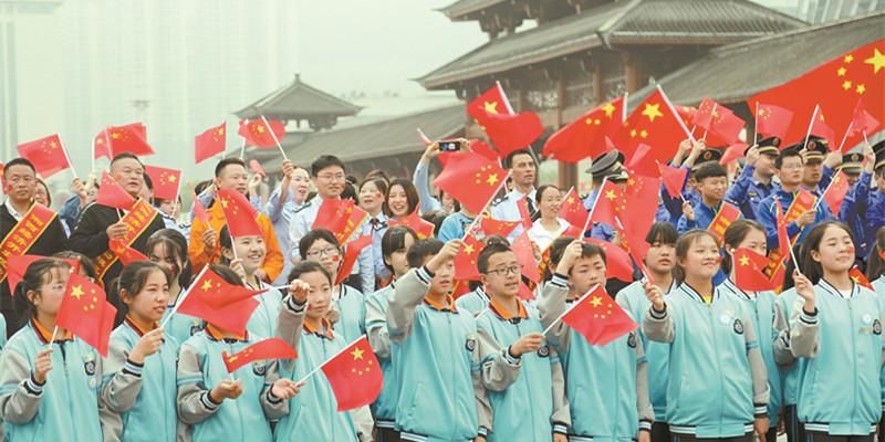 千人同唱《我和我的祖国》