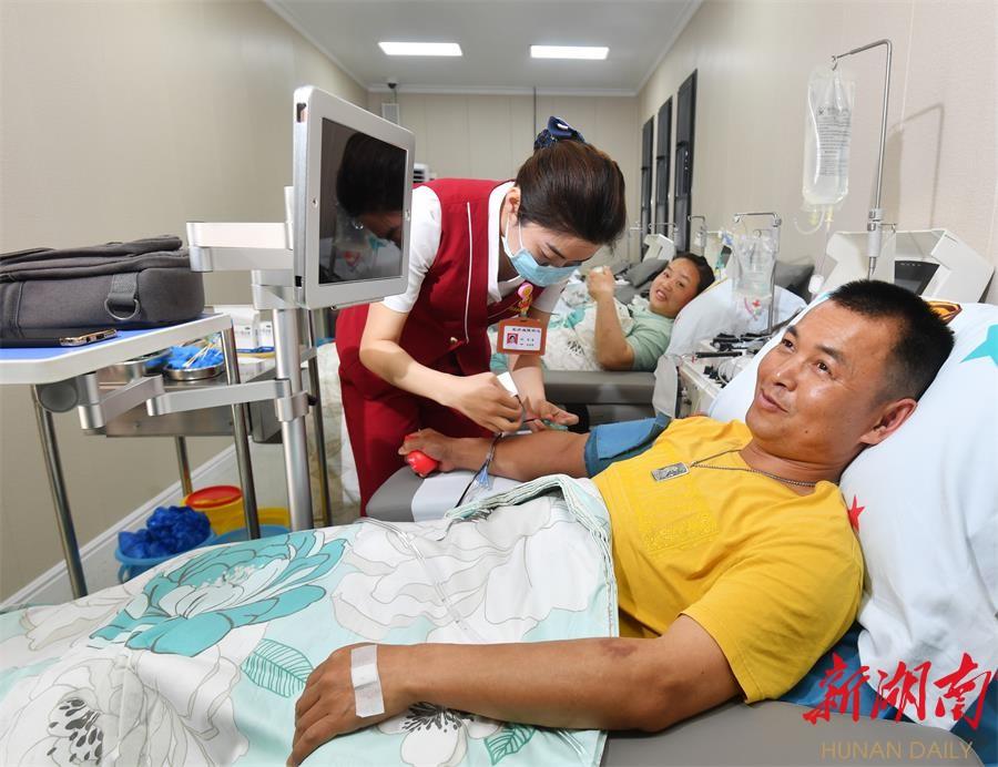 长沙河西机采献血屋亮相 新湖南www.hunanabc.com