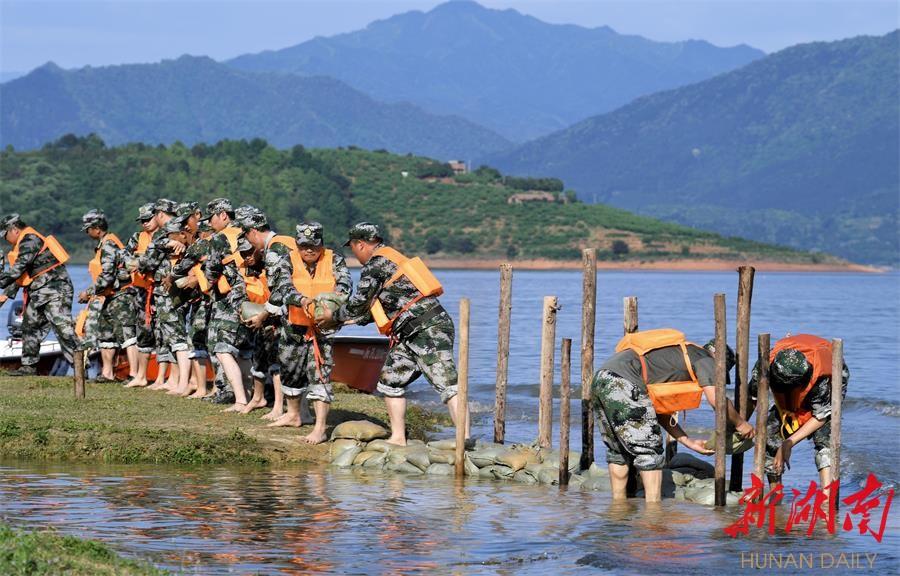 资兴:防汛抗洪集训 新湖南www.hunanabc.com