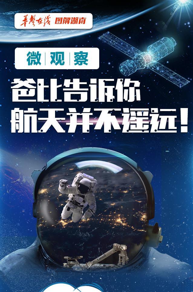 【图解】微观察——爸比告诉你 航天并不遥远!