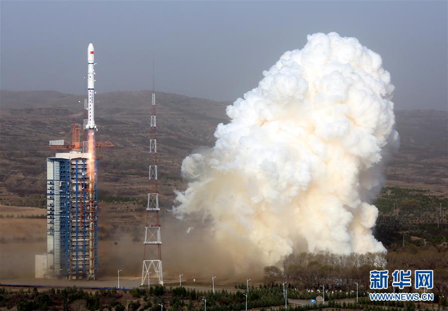 (科技)(2)我国成功发射天绘二号01组卫星