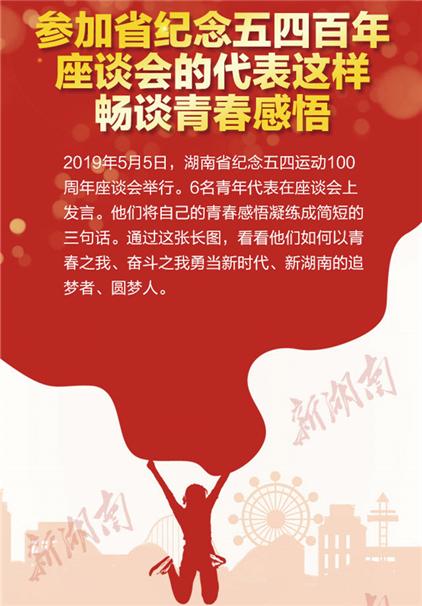 参加湖南省纪念五四百年座谈会的代表这样畅谈青春感悟