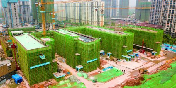 白鹤菱溪中学9月1日开学 天元区还有这些学校在建