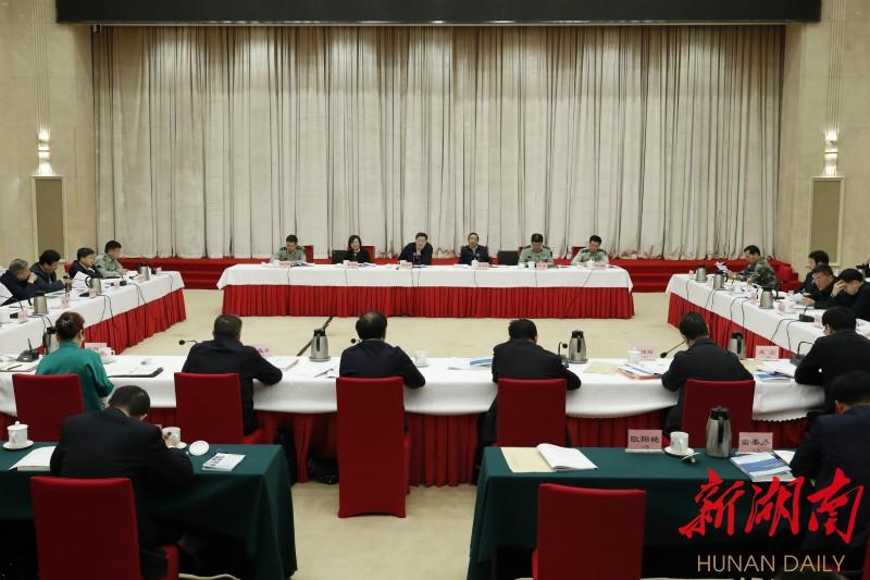 杜家毫主持召开省委军民融合发展委员会第二次全体会议