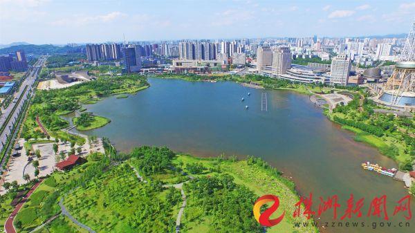 航拍神农湖 株洲日报社全媒体记者 谭浩瀚 摄 (2)